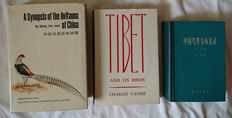 Lot with 3 books about birds in Asia - 1972/1987