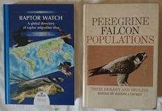 Lot with 2 books about birds of prey - 1969/2000