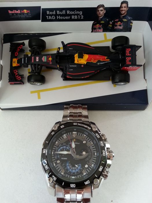 Casio Edifice EF-550RBSP-1AVDRF Red Bull Racing Limited Edition - Men s  wristwatch + b8f1921f43