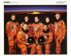STS-45 space mission with Dirk Frimout