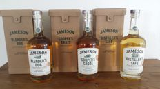 3 bottles - Jameson Blender's Dog + Cooper's Croze + Distiller's Safe
