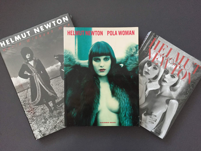 Helmut Newton - Work & World Without Men & Pola Woman - 3 volumes - 2000/2016