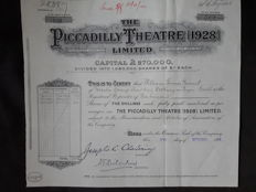 The Piccadilly Theatre (1928) Limited