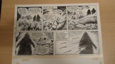 Anonymous - Original half page - Archie de man van staal - Archie en het cactus monster (late 1960s/early 70s)