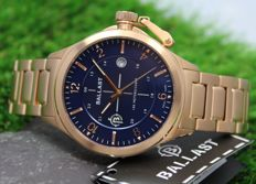 Ballast – Men's Trafalgar - Rose Gold Plated - Stainless Steel Watch - New & Mint Condition