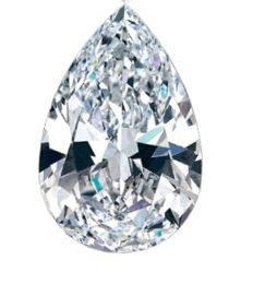 Pear cut diamond: 1.01 ct, F SI 1 **LOW RESERVE PRICE**.