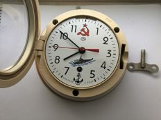 Original Russian CCCP Navy submarine clock - March 1984