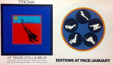 Ernest Trova - Falling Man, Pace/Columbia - 1969/1972