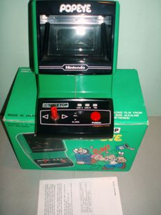 Nintendo Game & watch Popeye Table Top- Model No-PG-74- 1983