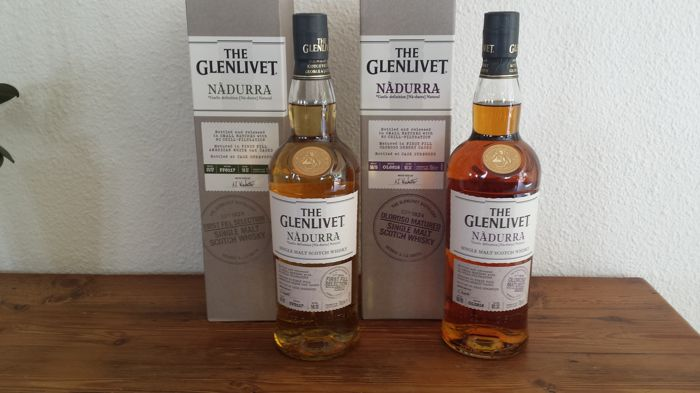 2 bottles - The Glenlivet Nadurra First Fill + Oloroso