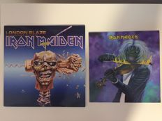 Iron Maiden- lot of 2x limited edition Iron Maiden: London Blaze - Hammersmith Odeon, London UK - December 7th, 1988 3LP & Maiden Denmark picture disc lp (250 copies only!)