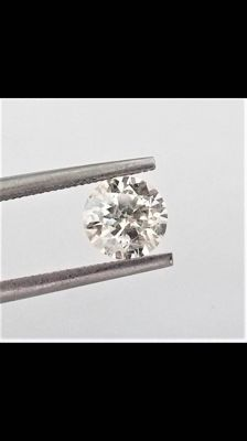 Round Brilliant Cut – 1.31 carat – G color – SI2 clarity – Natural Diamond Comes With AIG Certificate + Laser Inscription On Girdle.