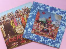 It Was 50 Years Ago Today, two psychedelic masterpieces saw the light! The Beatles Sgt Pepper's and the Rolling Stones Their Satanic Majesties Request (3D cover)