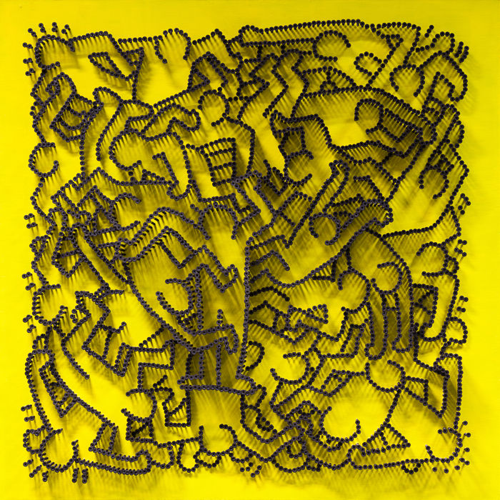 Alessandro Padovan (Drill Monkeys Art Duo) - KEITH HARING