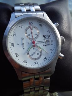 Cavadini chronograph - wristwatch - 1992