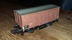 Märklin H0 - 312 - freight carriage, year 1947-48, brown
