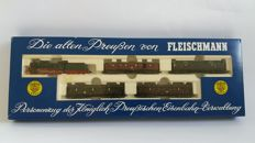"Fleischmann N - 7880 - 5 part Passenger train ""Die alten Preußen"" with steam locomotive Series P8 of the K.P.E.V."