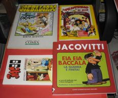 Jacovitti, Benito - 4x comic or illustrated books
