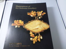12 auction catalogues (Sotheby's, Boisgirard, Piasa and other copies) Art Deco, Jugendstil and Art Nouveau auctions