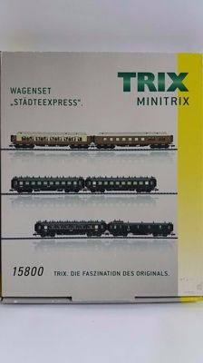 "Minitrix N - 15800 - 6-part Luxurious Bavarian ""Städte-Express"", ERA I"