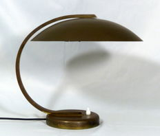 Unknown designer - Desk lamp in brass.