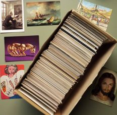 Uncirculated art postcards 900x