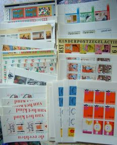 The Netherlands - batch of blocks and stamps