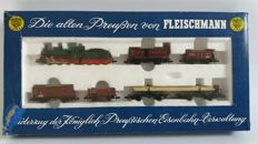 Fleischmann N - 7883 - freight train with a Series G4 steam locomotive of the K.P.E.V.