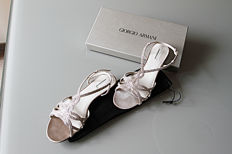Giorgio Armani - Sandals with rhinestones