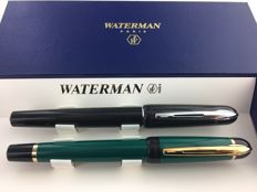 Kultur 2 Waterman fountain pens, new of which one is unique