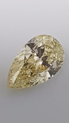 1.01 ct - Pear cut - White - J / VS1 - No minimum price