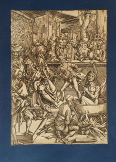 Durer Albrecht (1471-1528), The martyrdom of St. John, 1511