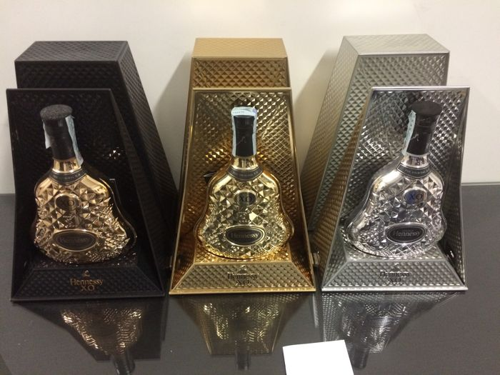 Trilogy of Hennessy XO Exclusive Collection No. VII, VIII & IX