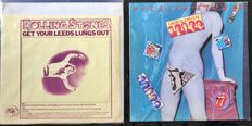 Rolling Stones - Lot of 2 albums  Get your Leeds lungs out - Unofficial 1971 - Undercover - 1983