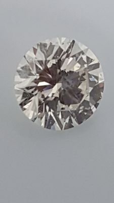 1.18 ct - Round Brilliant - White - E / VS2