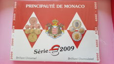 Monaco - Yearset Eurocoins 2009 in blister