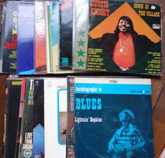 Different Soul / Blues artists  ; petterson,Redding,Sledge &others - Lot of 30 albums