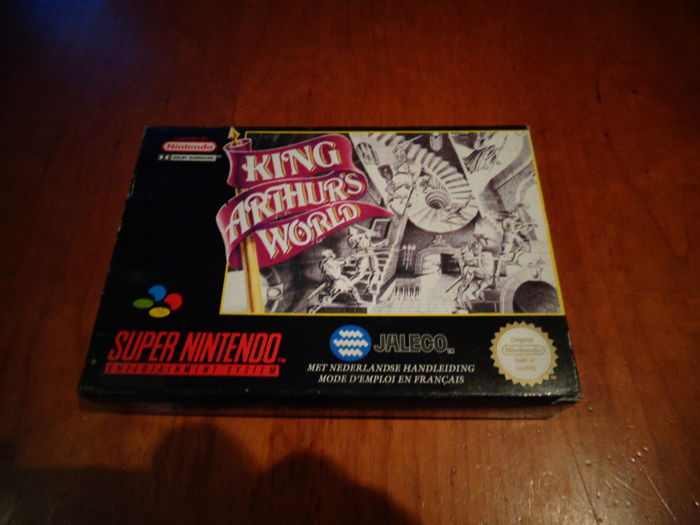 "Super Nintendo ""King Arthur´s World"" Rare FAH Version, Fully complete"
