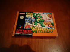 "Super Nintendo ""Whirlo"" Fully complete The Holy Grail of Super Nintendo Games"