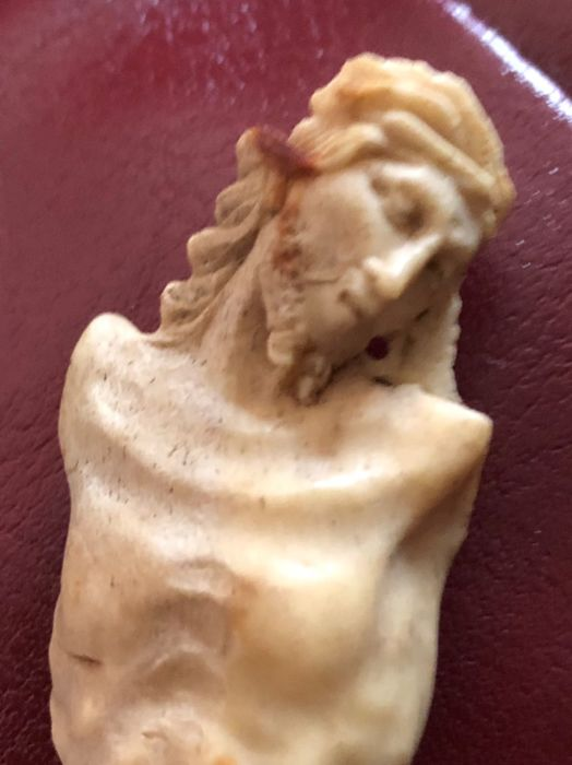 Rare Christ made of bone - Trapani - end 1700s