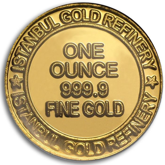 1 Ounce(31.1 g ) Sealed Fine 24 Ct Bullion Gold  Coin *** Low Reserve Price ***
