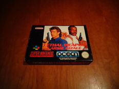 "Super Nintendo ""Lethal Weapon"" Rare FAH Version, Fully complete"