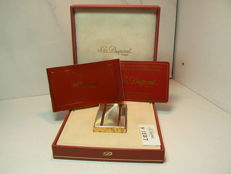 Gold plated Dupont lighter, large model (rare collection)