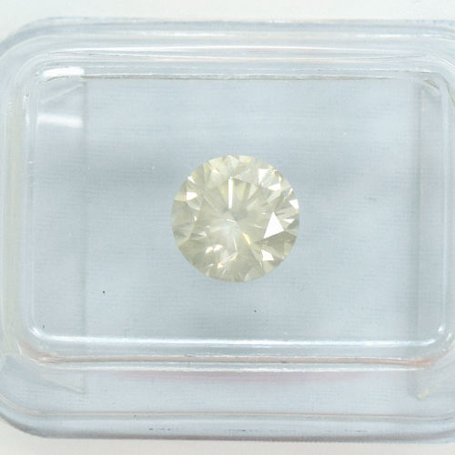 Diamond - 1.03 ct Natural Fancy Light Greyish Yellow, SI1 - NO RESERVE PRICE