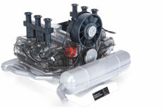 PORSCHE 911 - LARGE SCALE MODEL SIX-CYLINDER BOXER ENGINE - SCALE 1:4