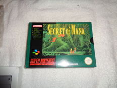 Snes Secret of Mana - boxed