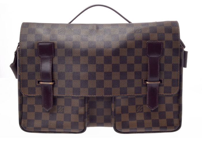 Louis Vuitton - Damier Ebene Broadway Borsa a spalla