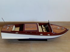 Beautiful Riva model with beige upholstery, 70 cm