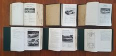 Lot of 6 folders Piet Olyslager's / Kluwer Autotechnische Handboeken