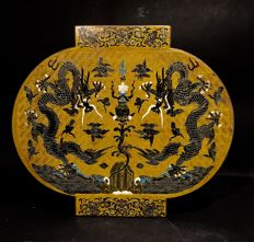 Tianqi Lacquer Box and Cover - China - laat 20th/21th century